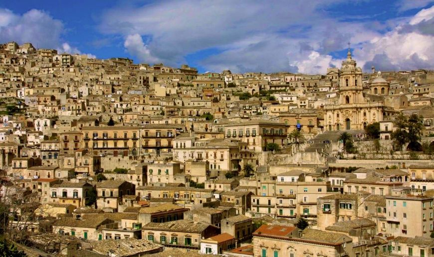 the town of Modica
