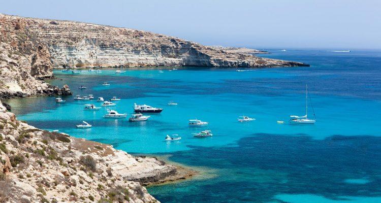 The Island of Lampedusa