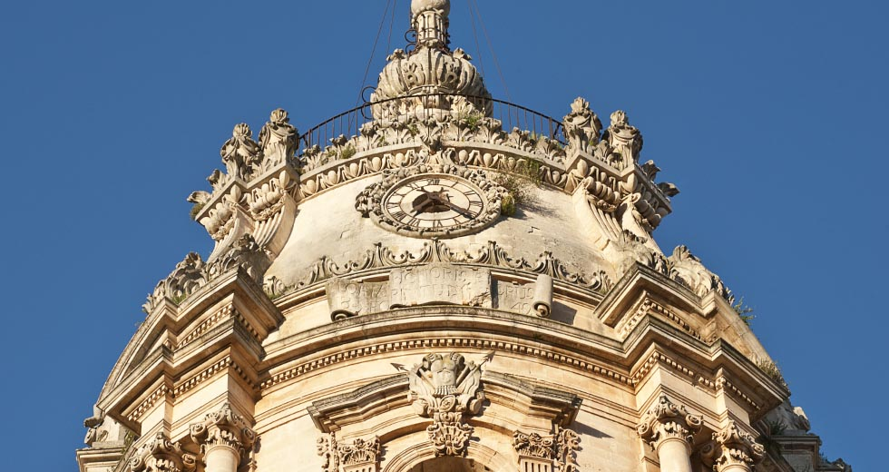 san Giorgio dome in Modica