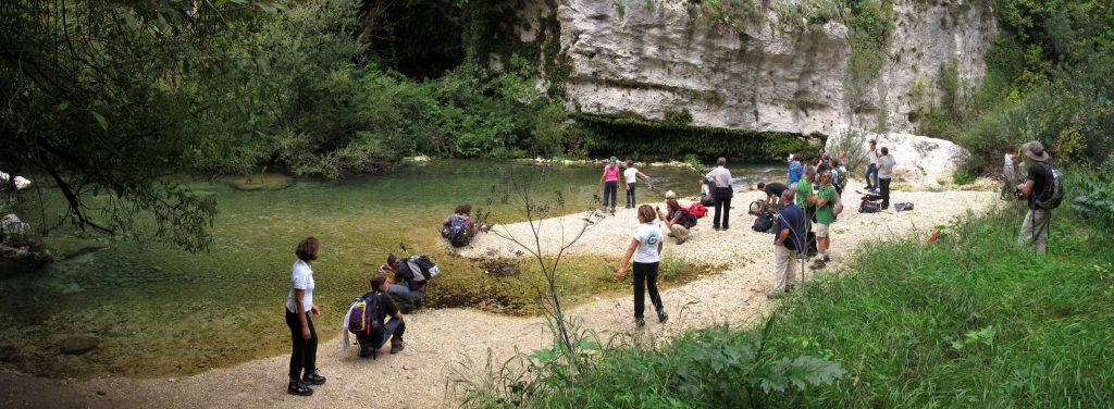 canyon in Pantalica