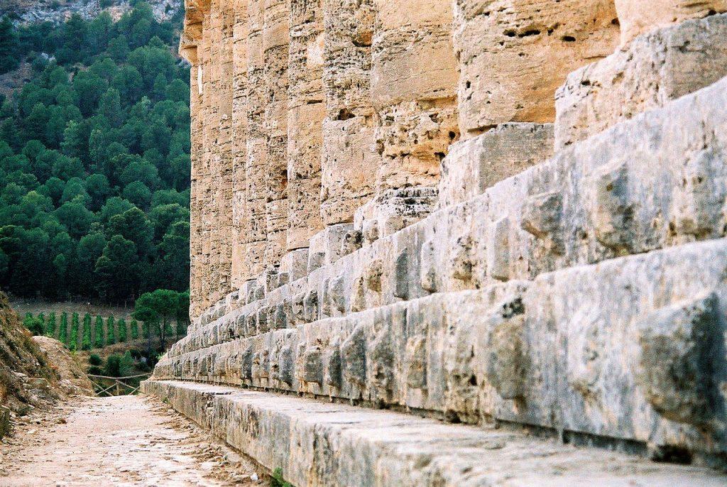 Ashlars of the Temple of Segesta
