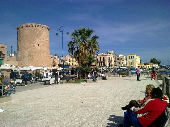 The tower of Mondello - Arab arts in Sicily