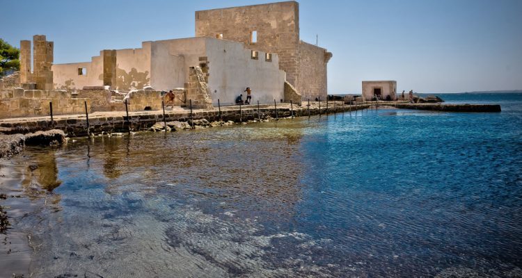 Natural reserve of Vendicary in Sicily