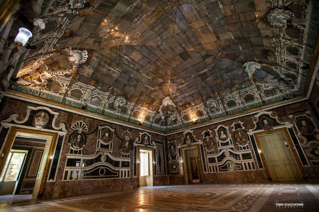 room of mirrors in Villa Palagonia - Bagheria
