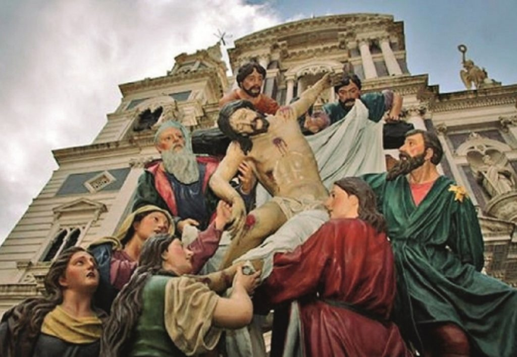 Image result for easter in Caltanissetta