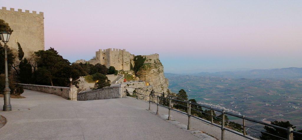the Castle of Venus in Erice