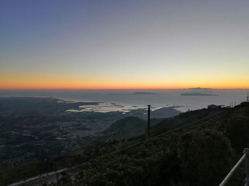 panorama from Erice